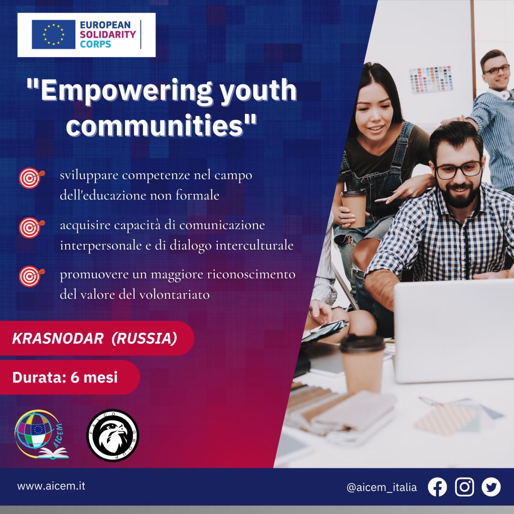 esc empowering youth communities